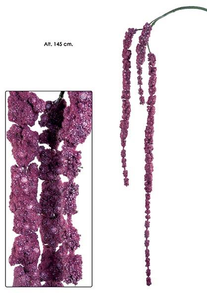 COLGANTE AMARANTHUS. 145 CM. CEREZA. (CAJA DE 6 UNIDAD)