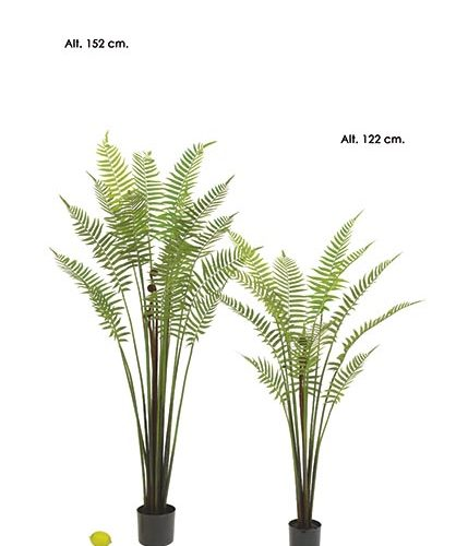 MACETA GOLDEN FERN X 18. 152 CM.